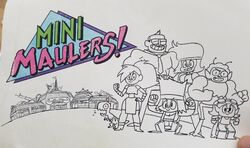 Mini Maulers Concept Drawing IJQ