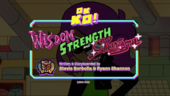 Wisdom, Strength, and Charisma Titlecard