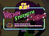 Wisdom, Strength, and Charisma
