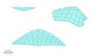 Hologram Hang Glider Model