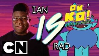 OK K.O.! Let's Be Heroes Who is Rad? Cartoon Network