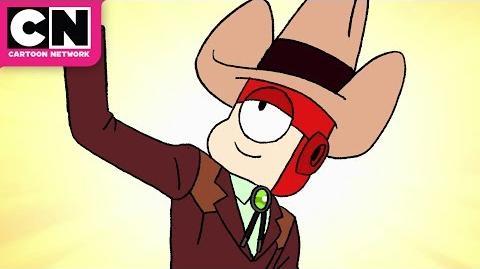 OK K.O. Let's Be Heroes Lord Cowboy Darrell Cartoon Network
