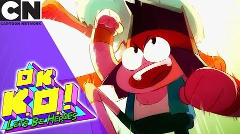 OK K.O.! Tiny KO Stuck in the Sewers Cartoon Network