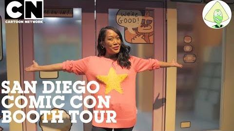 San Diego Comic Con OK K.O.! Booth Tour with Shelby Rabara Cartoon Network