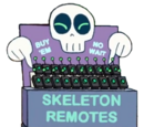 Skeleton Remote