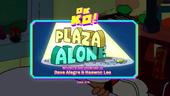 Plaza Alone Titlecard