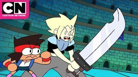 OK K.O.! Let's Be Heroes Battling Galgarion Cartoon Network