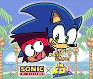 Let's Meet Sonic Promo Art