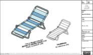 Beach Chair Model