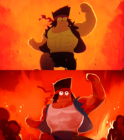 Buff ko comparison