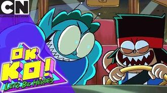 OK K.O.! Possessed by Ghosts Cartoon Network