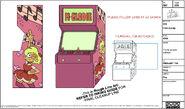 Elodie Arcade Cabinet Model
