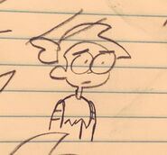 Tiney Eenid Drawing Toby
