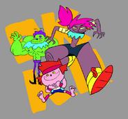 OKKO Trio Drawing Parker