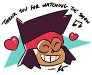TY for Watching the Show Rebecca Sugar
