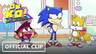 "OK KO! Let's Be Heroes ""Let's Meet Sonic"" Official Clip - Comic Con 2019"
