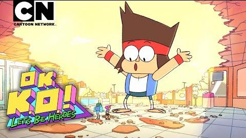 OK K.O.! Let's Be Heroes Meet K.O.! Cartoon Network