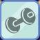 Dumbbell Symbol