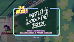 Mystery Science Fair 201X Titlecard