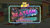 Be a Team Titlecard