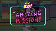 What an Amazing Mission! Titlecard