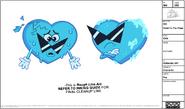 Ice Heart Model Sheet