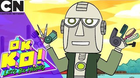 OK K.O.! The Origin of Logic the Hair Cutting Robot Cartoon Network