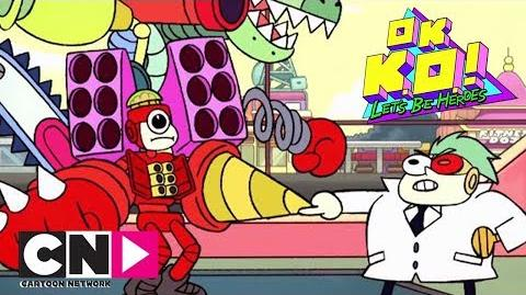 OK K.O.! Dad Boxman Cartoon Network Africa