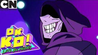 OK K.O.! Battle with the Shadowy Figure Cartoon Network
