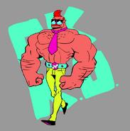 Mr Gar Drawing Parker