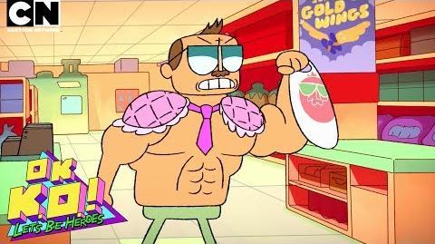 OK K.O.! Let's Be Heroes Meet Mr. Gar! Cartoon Network
