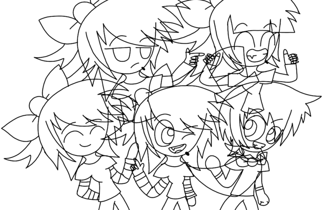 File:Four gals and one guy.png