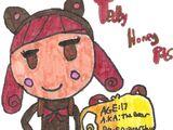 Teddy Honey Pots