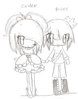 Lalaloopsy cinder slippers and prince handsome by vocaloid jessie chan-d4vk6g5