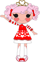 Queenie Red Heart