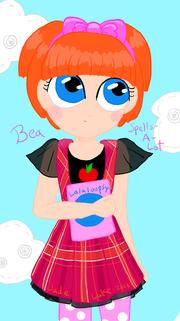 Bea spells a lot by minoraspatchworkart-d6aqzfv