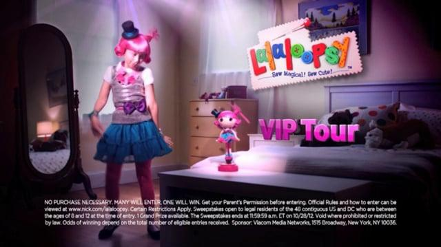 Alyson Leigh Rosenfeld Nickelodeon Lalaloopsy Commercial