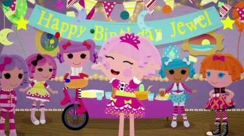 La fiesta de cumpleaños de Jewel Sparkles