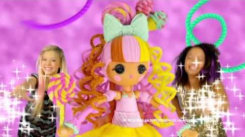 Lalaloopsy Peinados de Moda y Pasteles de Moda