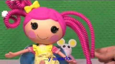 Bandai España - Demostración de Lalaloopsy Silly Hair