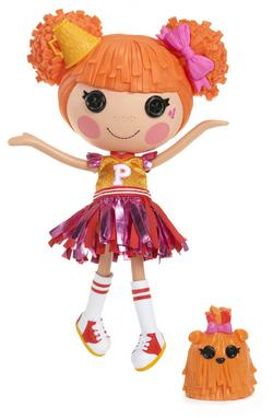 Peppy Pom Poms new Large Doll