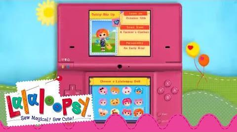 Lalaloopsy Nintendo DS Game