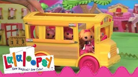 Mini Lalaloopsy Bea's School Bus