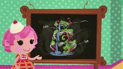 S2 E18 Cherry's chalkboard