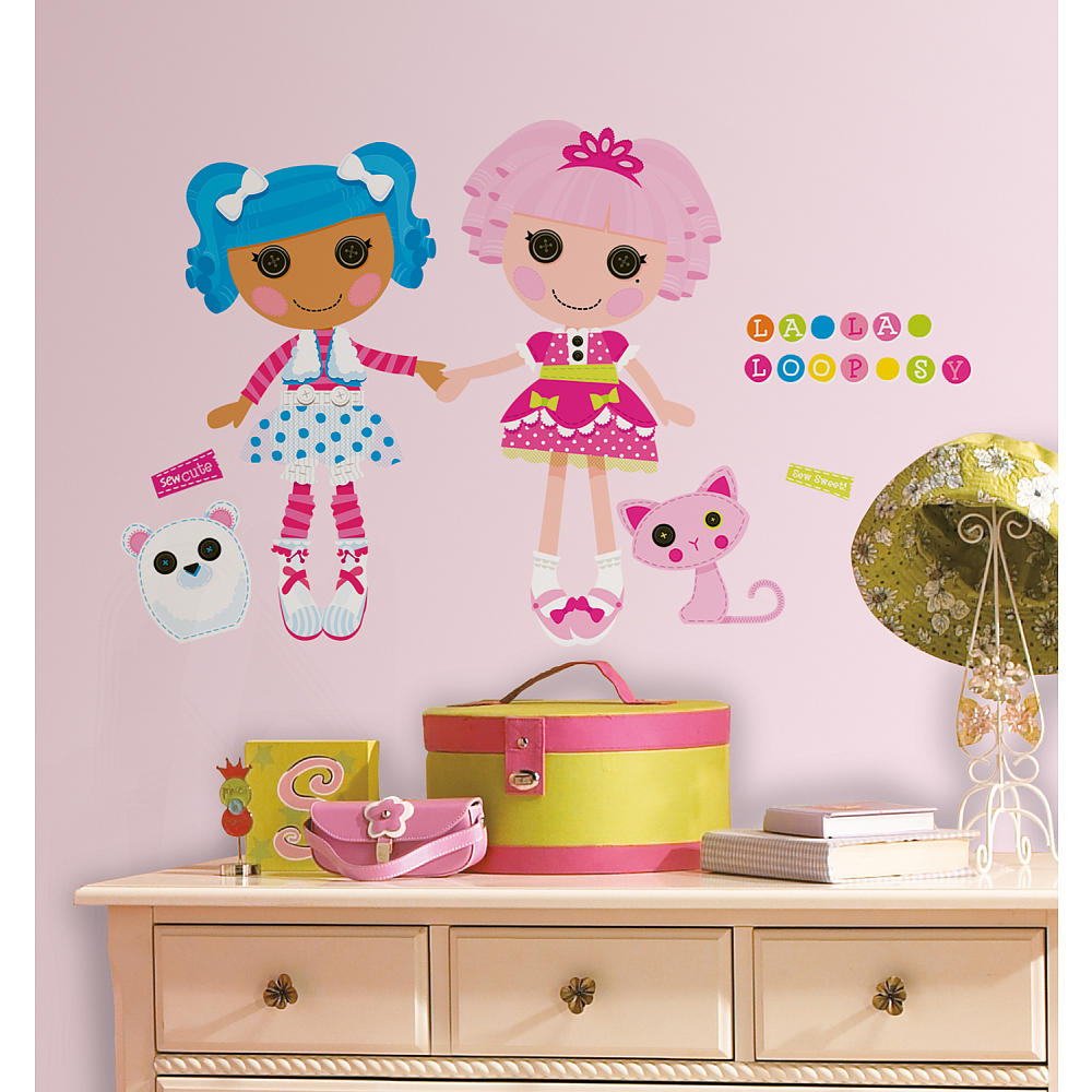 Image Mittens Jewel Wall Decalsjpg Lalaloopsy Land Wiki - Wall stickers decalswall decal wikipedia