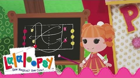 Peppy Pom Poms Plays Peppyball! Lalaloopsy