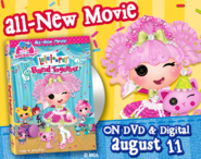 Lalaloopsy Band Together DVD Promo