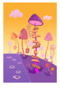 Lala-Oopsie Land Ladder Tree
