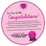 Jewel Sparkles - Lalaloopsy Girls - Lala Prep invitation