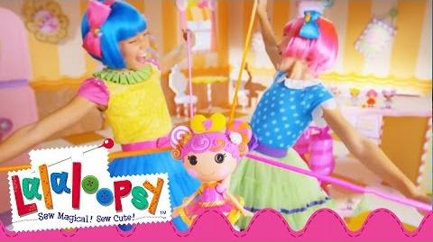 Lalaloopsy Stretchy Hair Commercial